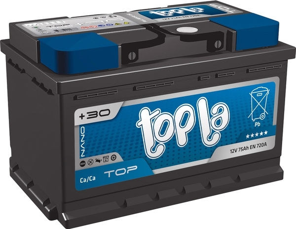 TOPLA 118678 Батарея аккумуляторная Top, 12В 78А/ч