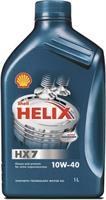 Масло моторное полусинтетическое Helix HX7 10W-40, 1л